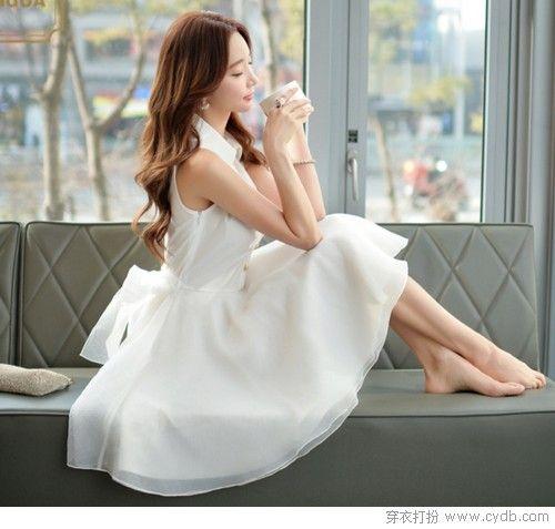 翩若惊鸿婉若游龙,唯白裙是也